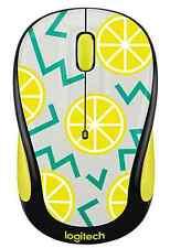 Logitech Play Collection M325c Mouse lemon Wireless optical 1000dpi New
