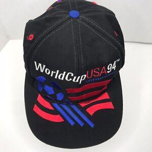 adidas 1994 World Cup USA Soccer 94 Baseball Cap Snapback Hat Men OSFA NICE!