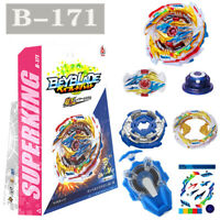 Beyblade Burst Superking B-171 Tempest Dragon With B-166 Spark Launcher Toys