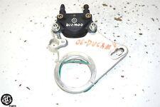 06 07 DUCATI MONSTER S2R 800 BREMBO REAR BRAKE CALIPE W BRACKET 61140171A(Fits: Ducati)