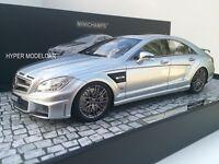 "MINICHAMPS 1/18 Mercedes-Benz  CLS 63 Brabus Rocket 800 ""2012"" Silver107032031"