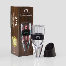 Portable Red Wine Aerating Pourer Decanter Travel Aerator Gift Box