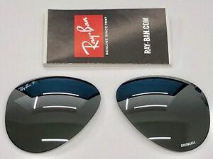 Lenses Ray-Ban RB4320CH 601-S/5J Polarized Chromance Replacement Lenses Lenti