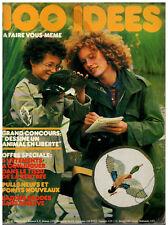 ▬► 100 IDÉES A FAIRE VOUS MÊME  N° 59 (1978) COUTURE_TRICOT_OUVRAGES_DÉCO