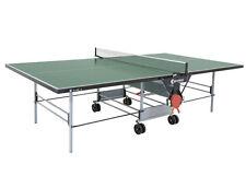 Tischtennisplatte outdoor Sponeta 3 46e Grün wetterfest Tischtennistisch m. Netz