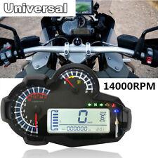 For 2,4 Cylinders LED Speedometer Digital Odometer For BMW Honda Kawasaki
