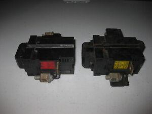 LOT OF 2 - PUSHMATIC P240 40AMP 2 POLE CIRCUIT BREAKER Bulldog