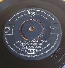 Towa Carson Pa En Ode O / Morgon Middag Kvall (RCA FAS 539) 1957 Swedish Press