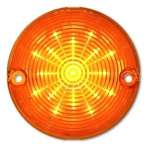 57 1957 Chevy Car Amber LED Park Parking Light Turn Signal Light Lamp Bulb Lens