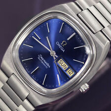 VINTAGE MEN'S OMEGA SEAMASTER AUTOMATIC DAY&DATE STAINLESS STEEL DRESS WATCH