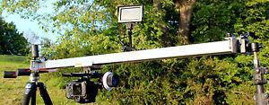 100CM Camera Slider Long for CANON NIKON SONY JVC PANASONIC BMCC 4k etc ***UK***