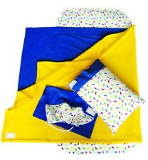 JLYBNZ Kindy Sheets - Blueberry colour (Sheet Set + Free Pillow Only)