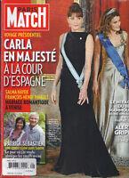 Paris Match Magazine Carla Bruni Ruth Madoff Salma Hayek Baby Mammoth 2009