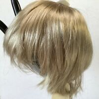 Hand Styled Doll Wig Global Dolls Stormy 14-15 Shaggy Blonde Hair NOS