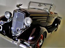 1930s Vintage Chevy Sport Car 1 T GT A 24 Rare Antique Classic 18 Metal Model 12