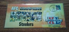 Pittsburgh Steelers Super Bowl XL Commemorative Envelope Post Office Issued 2006