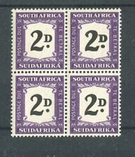 South Africa KGVI 1948-9 Postage Due 2d black & violet 'thick 2' SG.D36a MH