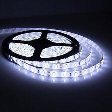 5M 12V 3528 White SMD Non-Waterproof 300 LED Strip Light String Ribbon Tape Roll