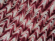 ROSE RIPPLE Handmade Crochet Afghan Blanket throw Vintage Ex Condition!