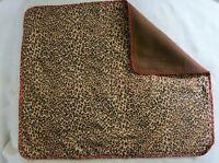 GUINEA PIG FERRET RABBIT HEDGEHOG SM PET FLEECE BLANKET/WEE PADS 16x20 296