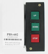 STANDARD DUTY CONTROL STATION UP - DOWN - STOP