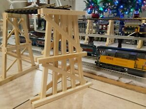 G Scale Model Train Garden Trestle Custom 12 inch Individual. Use for LGB Lionel