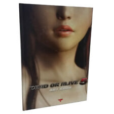 DEAD OR ALIVE 5 DOA5 Art Book Illustration Rare