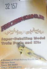 Precision Scale HO #32157 Coupler Pocket, Baldwin Type (Brass Casting)