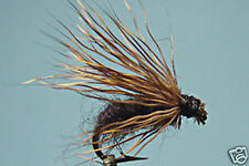 1 x Fly for Fishing Dry Black Buck Dadat H12/14 Dry Fly Fishing Trout