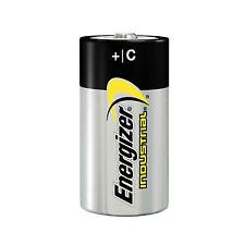 12 X Energizer C Industrial Battery LR14 Size Alkaline Long-lasting Batteries