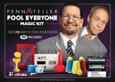 PENN & TELLER FOOL EVERYONE MAGIC KIT WITH OVER 200 TRICKS ROYAL MAGIC FOOL US