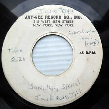JACK and JILL r&b bopper TEST PRESSING 45 SOMETHING SPECIAL / THE CHASE   F1111