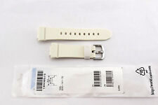 CASIO WATCH BAND:  10430573   BAND FOR BGD-141-7D   WHITE RESIN BGD141
