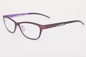 Orgreen Denmark TWIGGY 395 Matte Brown / Matte Purple Eyeglasses 51mm