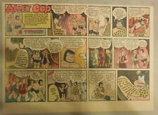 Alley Oop Sunday by VT Hamlin from 10/25/1953 Half Page Size