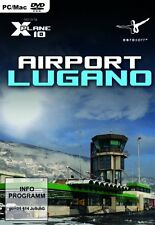 X - Plane 10 - Airport Lugano (Add - On)---(PC DVD)---Neu und OVP