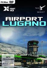 X - Plane 10 - Airport Lugano (Add - On)---(PC DVD)---Neu und OVP