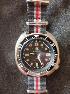 Steeldive 1970 Captain Willard Turtle Homage Diver Watch Automatic Sapphire NH35