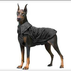 Dog Raincoat, 100% Waterproof Dog Coat Rainwear Jacket with Safe Reflective...