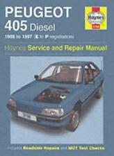 Peugeot 405 Diesel (88 - 97) Haynes Repair Manual: 1988-1997(E to P Registatio,