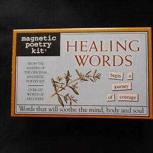 NEW HEALING WORDS Magnetic Poetry Kit