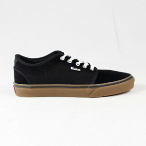 Vans Chukka Low Shoes Trainers in Black / Gum in UK Size 7,8,9,10,11,12