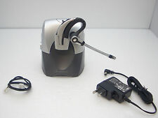 Plantronics CS70N Professional Wireless Ear Hook Headset System Tested Working