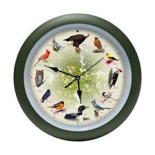 Limited Edition 20th Anniversary Mark Feldstein Singing Bird Clock, 13 Inch