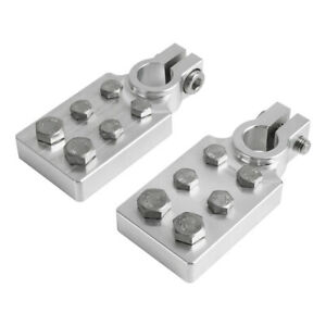 Multi-Connection Marine Flat Battery Terminals Clamps Lead 6 Way +/- Repair Tool