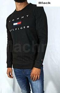 Tommy Hilfiger Long Sleeve Crew Neck Sweatshirt in 100% Cotton