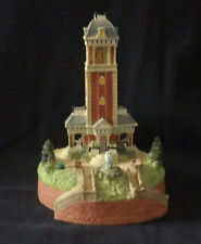 "Liberty Fall ""Bell Tower"" Sounds Chimes/Bell Ah333 Christmas Snow Village Figure"