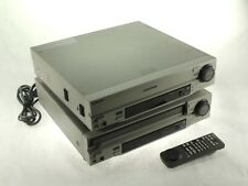 LOT of TWO- Sony MDP-1100 Multi Disc CD CDV LD Lasermax LaserDisc Player *AS IS*