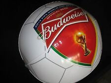Large Budweiser World Cup Soccer Beer Inflatable Blow Up bar Brazil 2014 Fifa D2