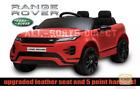 LICENSED RED 2021 RANGE ROVER EVOQUE 12V ELECTRIC KIDS CHILDS RIDE ON JEEP CAR
